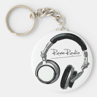 Porte - clé par radio d'éloge porte-clé rond