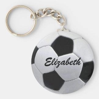 Porte - clé personnalisé de ballon de football porte-clé rond