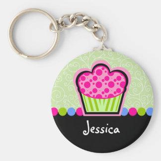 Porte - clé personnalisé par petit gâteau mignon porte-clé rond