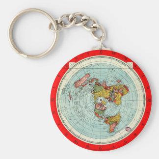 Porte - clé plat de carte porte-clés