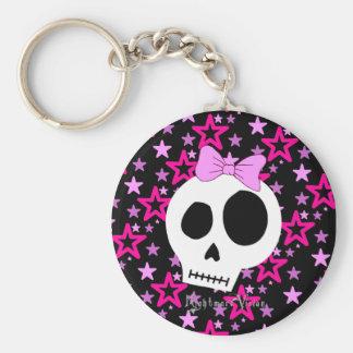 Porte - clé punk étoilé porte-clés