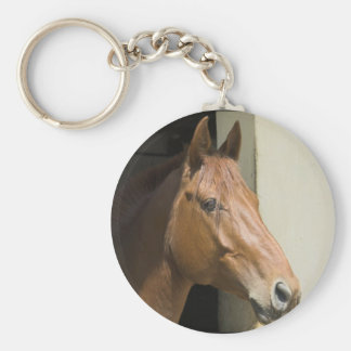 Porte - clé quart américain de cheval porte-clé rond