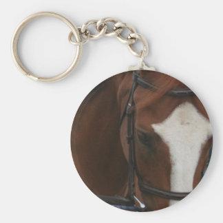 Porte - clé quart de cheval porte-clé rond
