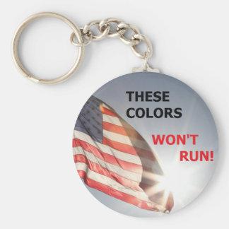 porte - clé que ces couleurs ne courront pas porte-clé rond