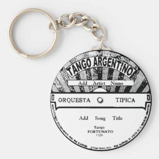 Porte - clé record d'Argentino de tango Porte-clé Rond