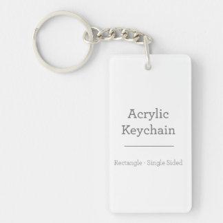 Porte - clé rectangulaire fait sur commande porte-clés