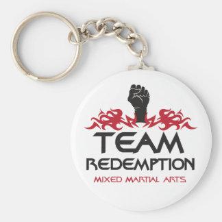 Porte - clé rond de rachat d'équipe porte-clé rond