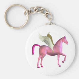 Porte - clé rose de Pegasus Porte-clés