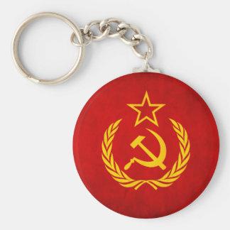 Porte - clé soviétique de drapeau porte-clés