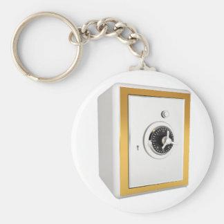 Porte - clé sûr verrouillé porte-clé rond