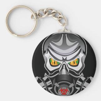 Porte - clé toxique porte-clé rond
