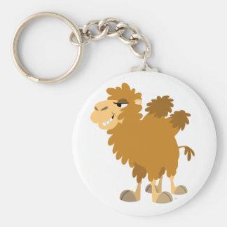 Porte - clé Two-Humped de chameau de bande Porte-clé Rond