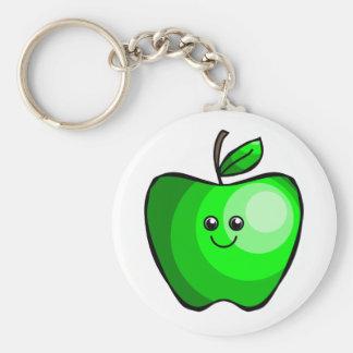Porte - clé vert mignon d'Apple Porte-clés