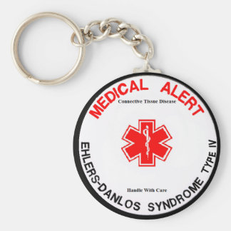 Porte - clé vigilant médical d'EDS IV VEDS Porte-clés