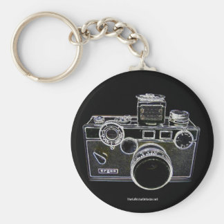 Porte - clé vintage d'appareil-photo d'Argus Porte-clés