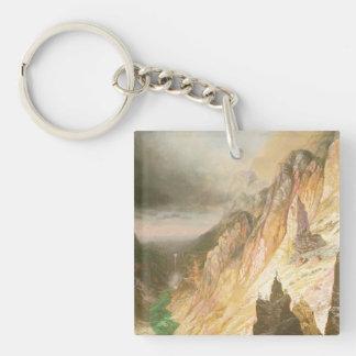 Porte-clefs Abaissez les automnes, canyon grand du Yellowstone