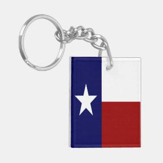 Porte-clefs Américain impressionnant et drapeaux du Texas