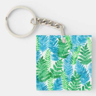 Porte-clefs Aquarelle de fougère