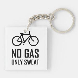 Porte-clefs Aucun vélo de gaz n'a seulement sué