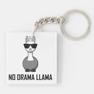 Porte-clefs Aucunes lunettes de soleil de lama de drame