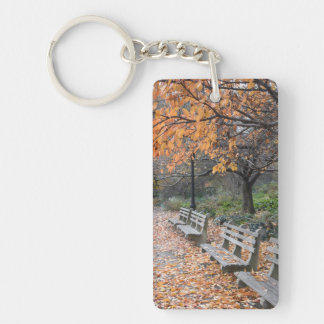 Porte-clefs Automne de photographie de New York City en parc
