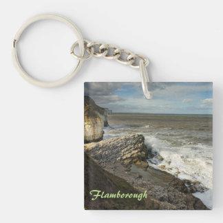 Porte-clefs Baie de Thornwick en photo de souvenir de