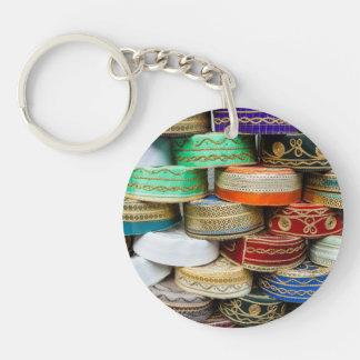 Porte-clefs Casquettes arabes au marché