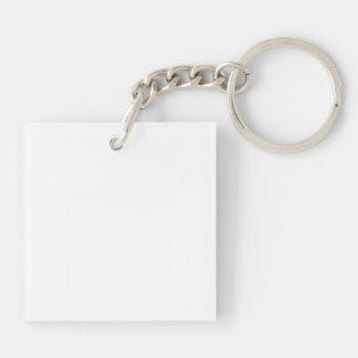 Porte-clefs Cheval noir et blanc de peinture d'Overo