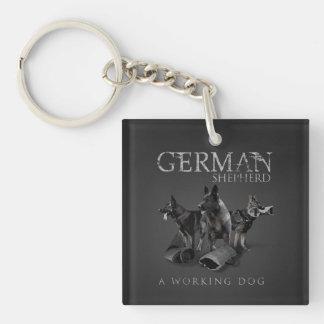 Porte-clefs Chien de berger allemand de travail - GSD