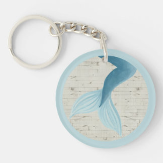 Porte-clefs Collection peinte de sirène