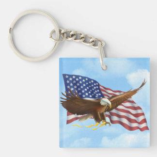 Porte-clefs Eagle chauve américain