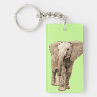 Porte-clefs Éléphant mignon de bébé