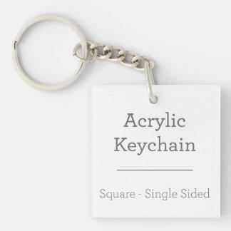 Porte-clefs Faites votre propre porte - clé carré