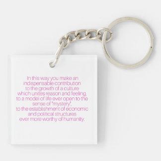 Porte-clefs Femmes de Merci qui travaillent le porte - clé