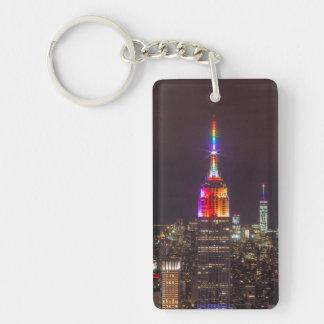 Porte-clefs Fierté d'Empire State Building