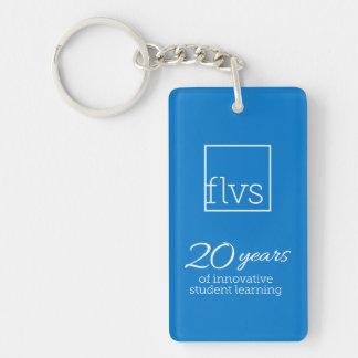 Porte-clefs FLVS 20 ans de porte - clé