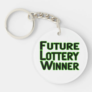 Porte-clefs Futur gagnant de loterie