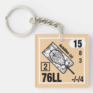Porte-clefs Gousset de porte - clé de M10 Achille