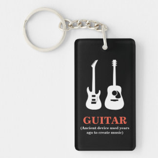 Porte-clefs GUITARE (dispositif antique utilisé .............