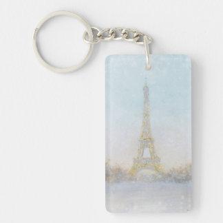 Porte-clefs Image de l'aquarelle | d'Eiffel Towe