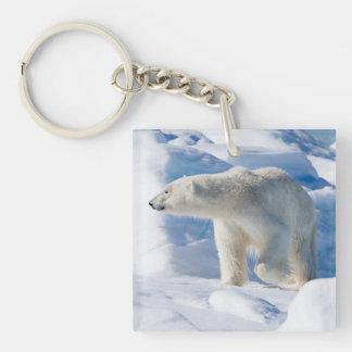 Porte-clefs Jeune ours blanc masculin