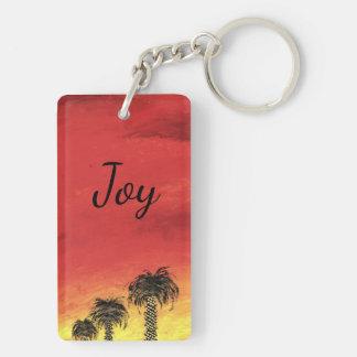 """Porte-clefs Joie - """"célébration de désert"""" par tout l'art de"""