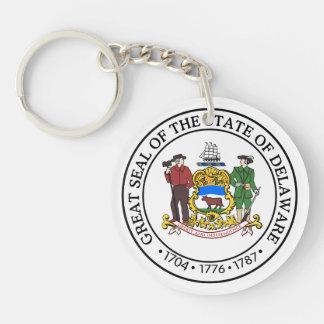 Porte-clefs Joint d'état du Delaware -