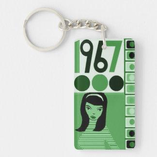 Porte-clefs La duchesse 1967 vont vont poussin
