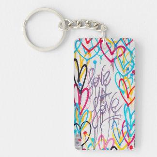 Porte-clefs L'amour est porte - clé d'amour