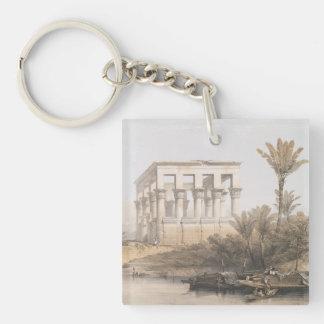 Porte-clefs Le kiosque de Trajan, temple hypèthre chez Philae