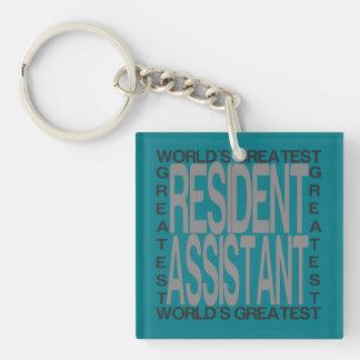 Porte-clefs Le plus grand assistant résident des mondes