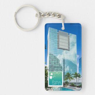 Porte-clefs Le spa au porte - clé de Conrad Miami R&R