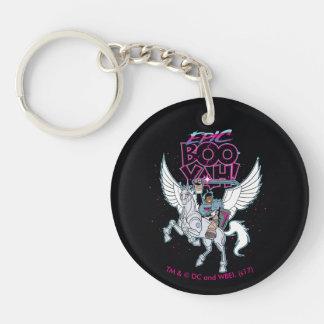 Porte-clefs Les titans de l'adolescence vont ! cyborg de