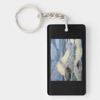 Porte-clefs L'océan - une force de nature